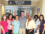 Tim Casarin and his MSK Rehabilitation Team